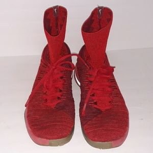 Nike Zoom red sock gymshoes Size 13